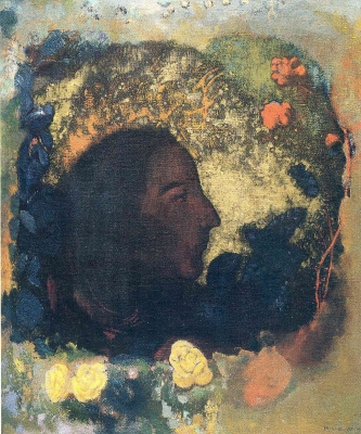 Odilon Redon. Portrait Of Paul Gauguin