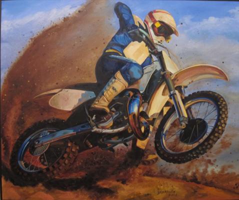 Dariya Zakharova. Sand conqueror
