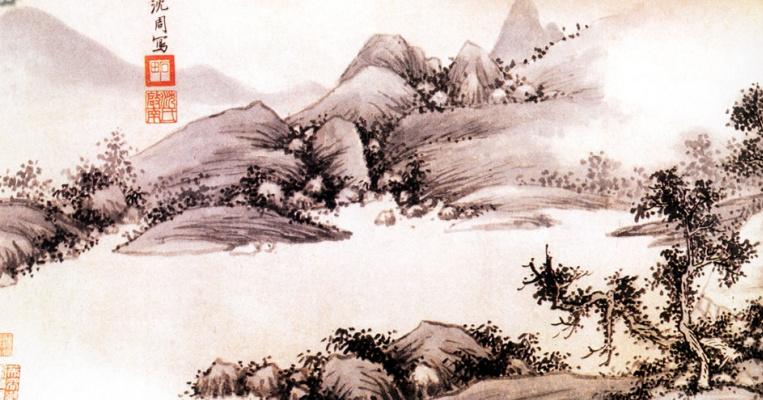 Шен Чжоу. Пейзаж 036