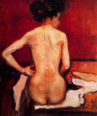 Edward Munch. Nude