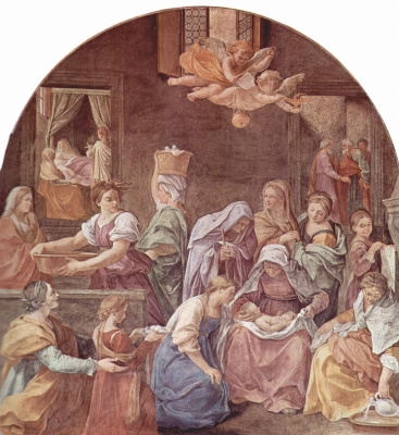 Гвидо Рени. Рождество Марии