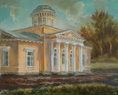 Christina Shchekina. Strukovs House, Peterhof