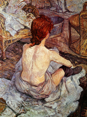 Henri de Toulouse-Lautrec. After swimming
