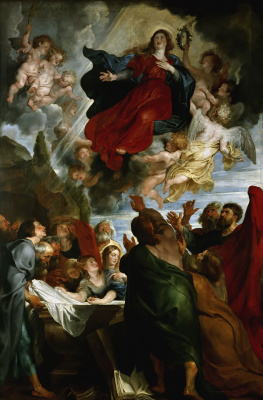 Peter Paul Rubens. Assumption Of The Virgin Mary