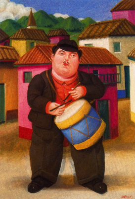 Fernando Botero. Drummer