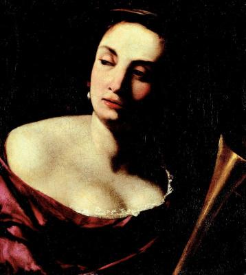 Artemisia Gentileschi. Аллегория славы. 1630-1635
