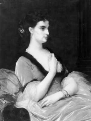 Alexandre Cabanel. Portrait of a lady