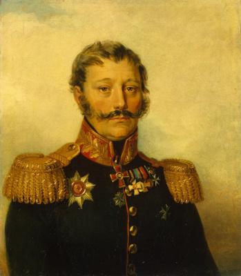 Джордж Доу. Портрет Василия Дмитриевича Рыкова