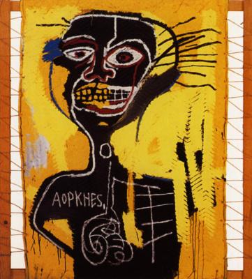 Jean-Michel Basquiat. Head