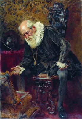 Константин Егорович Маковский. Скупой рыцарь