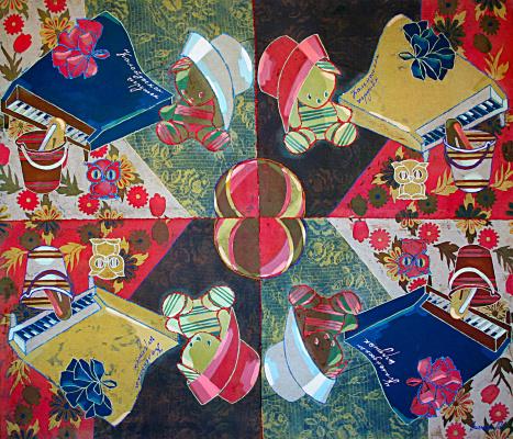 Violetta Valerievna Mitina. Toy kaleidoscope