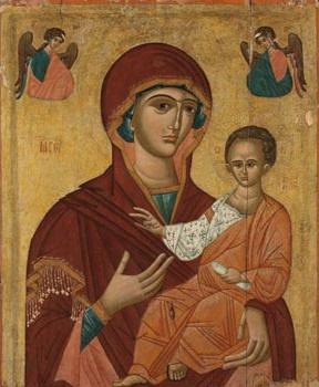 XVI Украинский  иконописец  века. Красовская Богородица