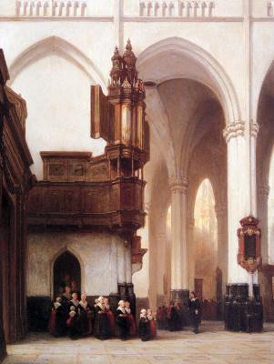 Йоханнес Босбум. Сироты в новом храме, Амстердам