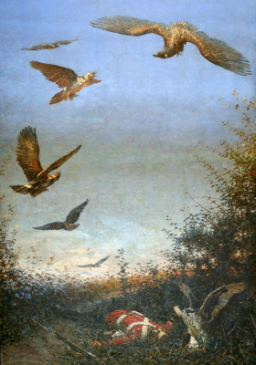 Vasily Vasilyevich Vereshchagin. Eagles. (Forgotten soldiers)