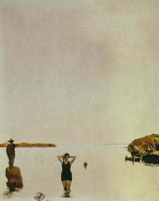 Salvador Dali. White silence
