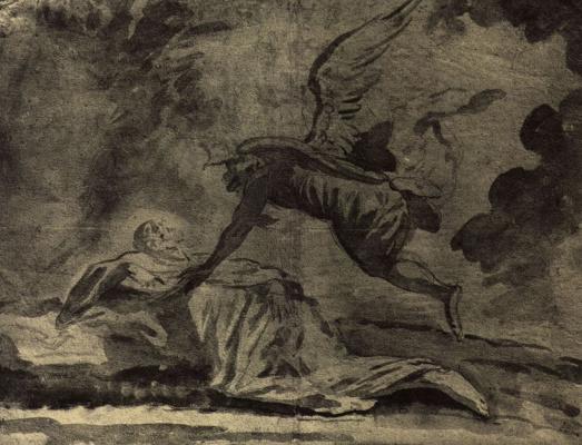 Петер Иоганн Брандль. Сон пророка Илии