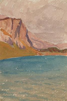 Джованни Джакометти. Озеро Зильс