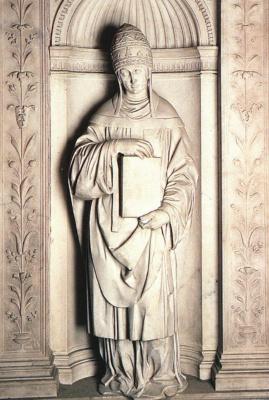 Michelangelo Buonarroti. Saint Gregory I