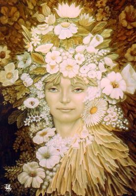 Лориен. Белые цветы