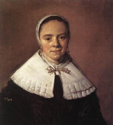 France Hals. Portrait of a young woman
