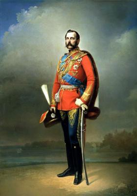 Николай Лавров. Портрет императора Александра II