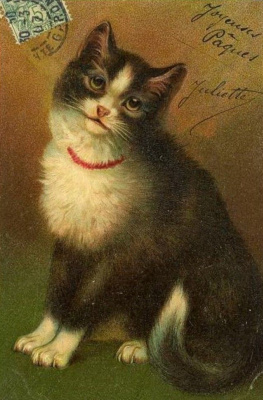 Louis Wain. Charming kitty