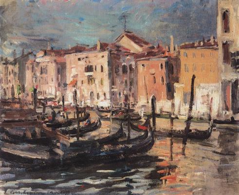 Konstantin Korovin. Venice
