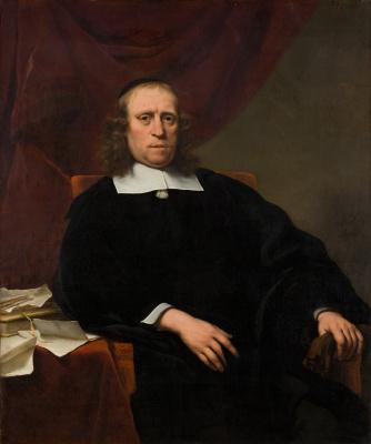 Фердинанд Балтасарс Боль. Портрет Давида де Вилдта, секретаря адмиралтейства Амстердама
