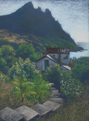 Екатерина Ивановна Киселева. House by the sea