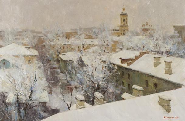 Alexander Evgenievich Kosnichev. Moscow. View of Kadashi
