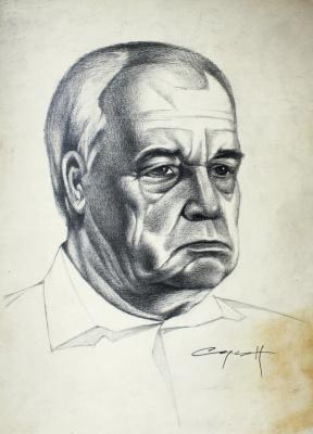 Nikolai Nikolayevich Sednin. Portrait Butorova