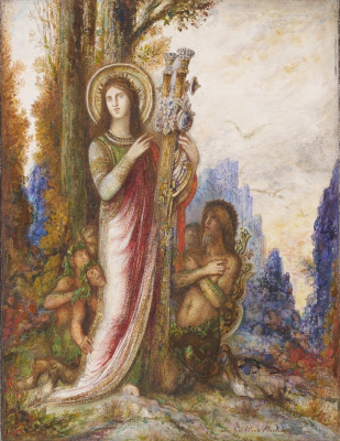 Gustave Moreau. Poet and Satyr