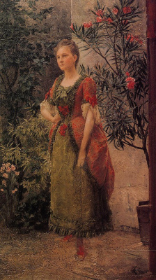Gustav Klimt. Portrait Of Emilia Flee
