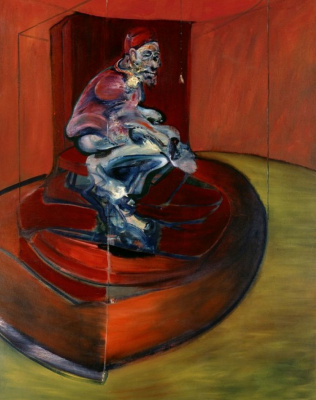 Francis Bacon. Sketch for innocent X