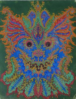 Louis Wain. Ivory Kaleidoscope V