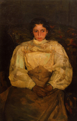 Alexander Murashko. Portrait Of Zinaida Akinina (Evdokimova)