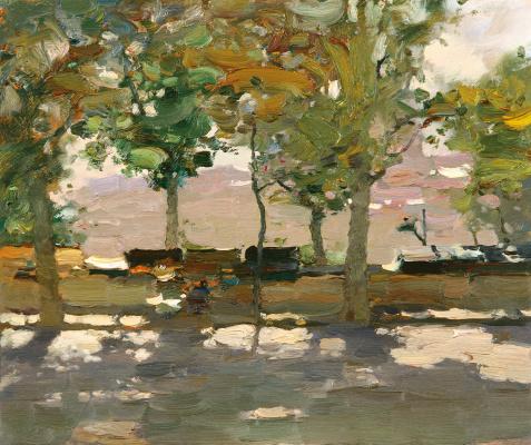 Bato Dugarovich Dugarzhapov. Quay Of Paris