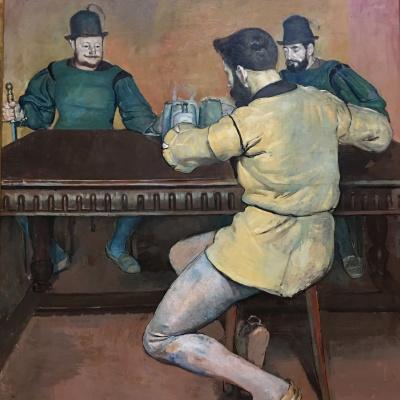 Ferdinand Hodler. Drunks