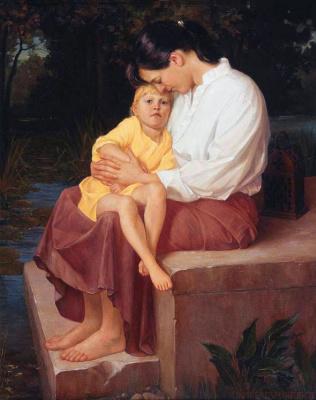 Брайс Листон. Мать и дочь