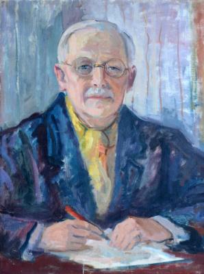 Николай Петрович Глущенко. Портрет Виктора Маргерита