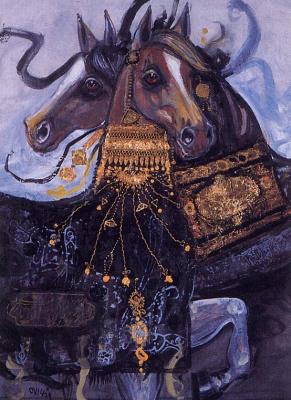 Насер Овисси. Арабские лошади