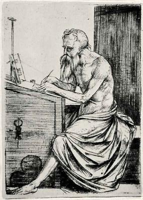 Jacopo de Barbary. Saint Jerome