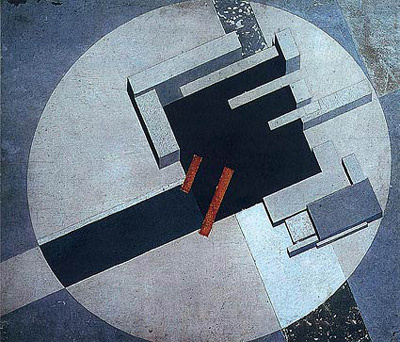 El Lissitzky. The city