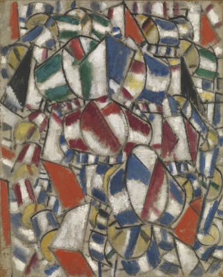 Fernand Leger. The contrast of forms