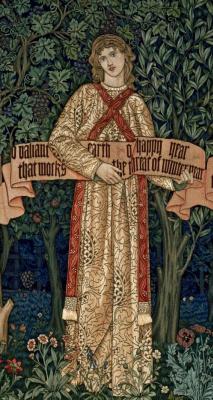 Уильям Моррис. Фруктовый сад. Фрагмент IV