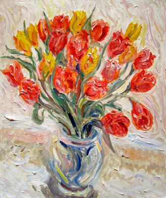 Alexey Vladimirovich Konstantinov. Tulips