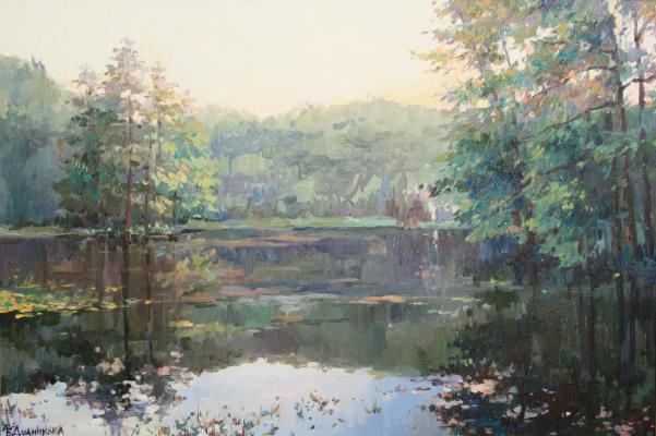 Violetta Dudnikova. Old pond