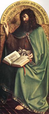 Ян ван Эйк. Святой Иоанн Креститель