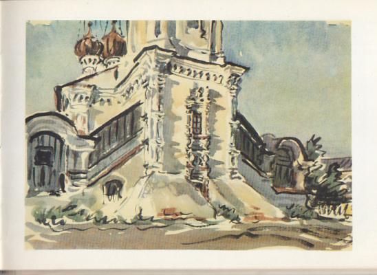 Emmanuel Bentsionovich Bernstein. Sretenskaya church