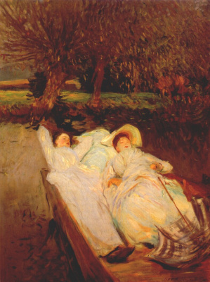 John Singer Sargent. The Summer Of St. Martin